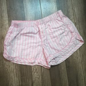 Victoria's Secret Striped Sleep Shorts